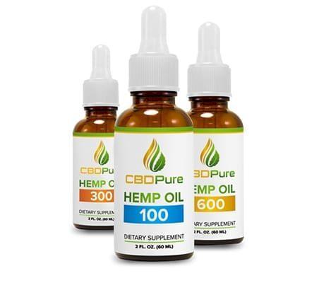 CBD Pure Affiliate Program - Cannabis - Hemp - Bottles