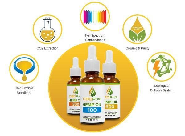 CBD Pure Affiliate Program - Cannabis - Hemp - Graphic
